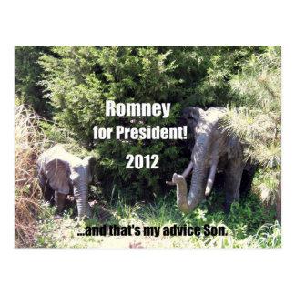 Romney voor President - 2012 Briefkaart