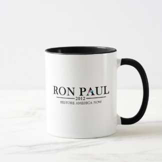 Ron Paul 2012 (zwarte) Mok