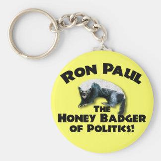 Ron Paul - Honing Bader 2012 Sleutelhanger