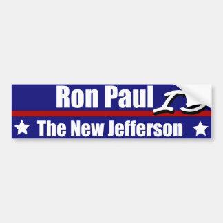 Ron Paul is Nieuwe Jefferson Bumpersticker