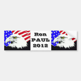 Ron Paul voor President 2012 Bumpersticker