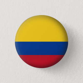 Rond Colombia Ronde Button 3,2 Cm