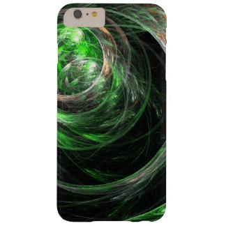Rond het Groene Abstracte Art. van de Wereld Barely There iPhone 6 Plus Hoesje