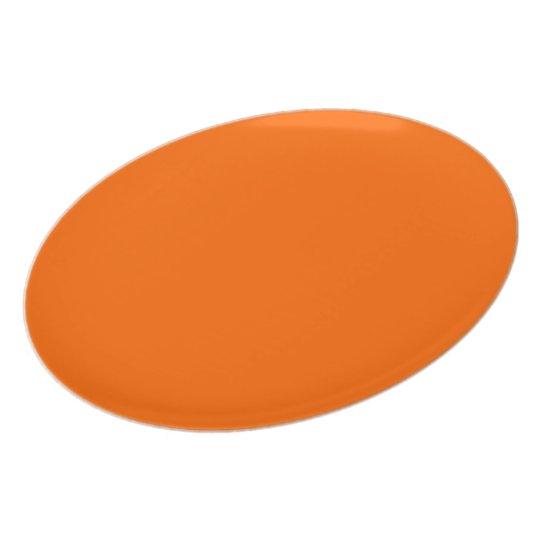Rond uni oranje bord