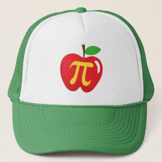 Rood appeltaartpi symbool trucker pet