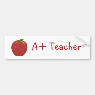 Rood Apple, A+ De bumperstickers van de leraar