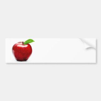 Rood Apple Bumpersticker