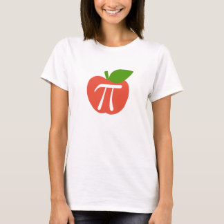Rood Apple Pi T Shirt
