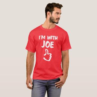 Rood ben ik met het overhemd van Joe T Shirt