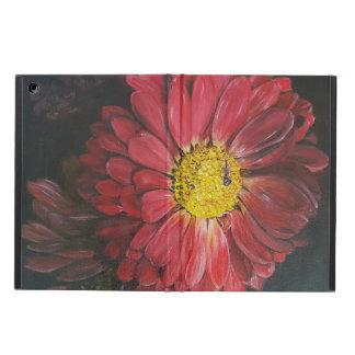 Rood bloem iPad Air Case