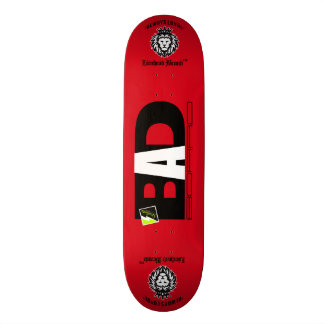 """Rood Dek 082 van Scolletta van de """"Slechte Raad"""" 21,6 Cm Skateboard Deck"""