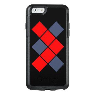Rood en Blauw OtterBox iPhone 6/6s Hoesje