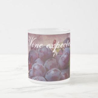 Rood en Groene druiven Matglas Koffiemok