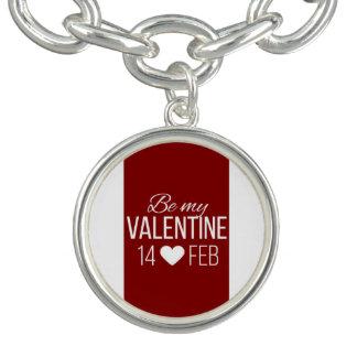 Rood en Wit ben Mijn Hart van Valentijn Bedel Armbandjes