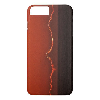 Rood iPhonehoesje van de Zonsondergang iPhone 8/7 Plus Hoesje
