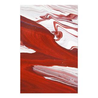 Rood Lint Briefpapier