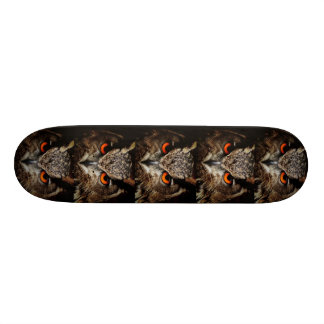"rood skateboard 8 1/8 van de oog borwn uil """
