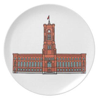 Rood Stadhuis Berlijn Borden