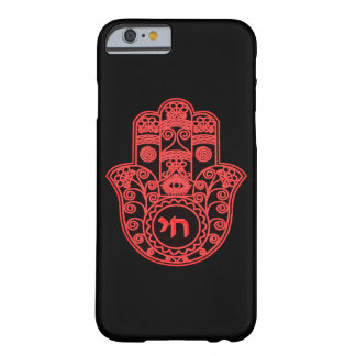 Rood Symbool Hamsa Barely There iPhone 6 Hoesje