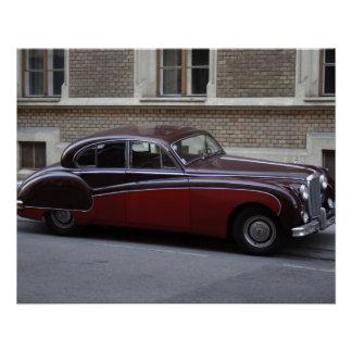 Rood Teken IX van Jaguar Perfect Poster