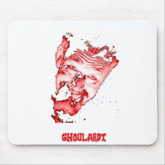 (Rood/Transparante) Ghoulardi Klantgerichte Muismatten