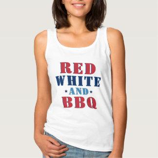 Rood Wit en BBQ | Vierde van Juli Tanktop