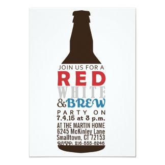 Rood, Wit en brouw de Uitnodiging van de Partij