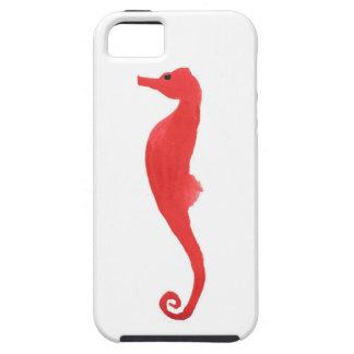 Rood Zeepaardje Tough iPhone 5 Hoesje