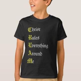 ROOM, hrist, ules, het verything, ronde, e T Shirt