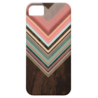 Roomijs - Modern en Trendy geometrisch patroon Barely There iPhone 5 Hoesje