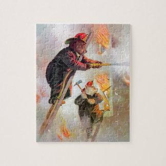 Roosevelt draagt Brandbestrijders Puzzel