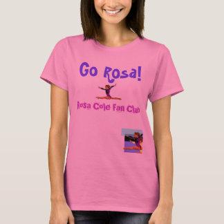 Rosa Cole de Aangepaste Club van de Ventilator - T Shirt