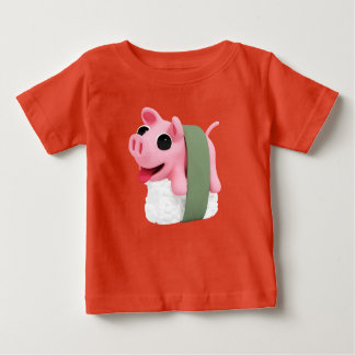 Rosa the Pig is a Sushi Baby T Shirts