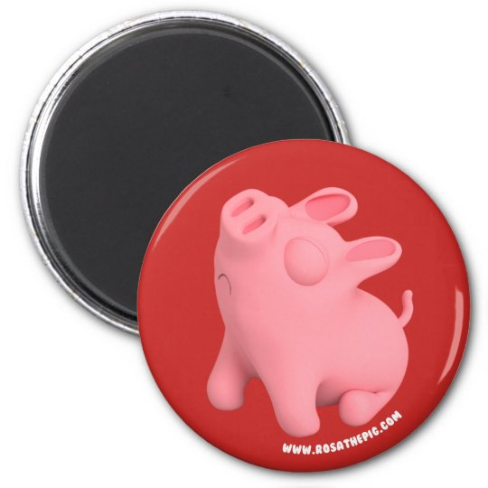 Rosa the Pig is Sno Magneet