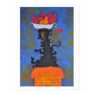 RosasBriefkaart van Palenquera y Briefkaart