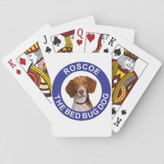 Roscoe de Speelkaarten van de Hond van het Insect