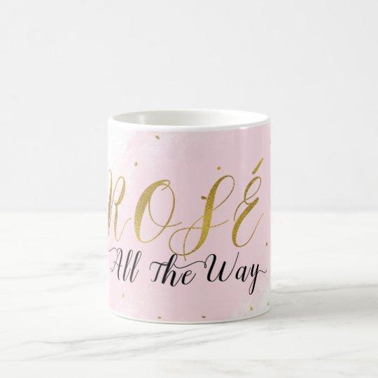 Rosé Al Roze & Gouden Wijn Moderne Glam van de Koffiemok