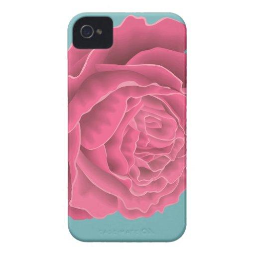 Rose Vector iPhone 4 Case-Mate Hoesje
