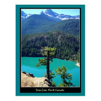 Ross Lake op de Cascades van het Noorden, Briefkaart