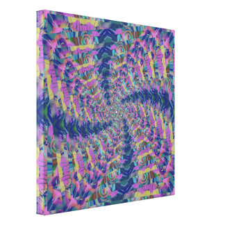 Rotatie neer canvas print