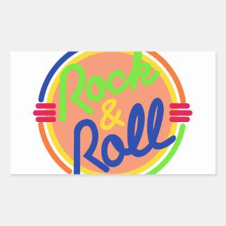 Rots & Broodje Rechthoekige Sticker