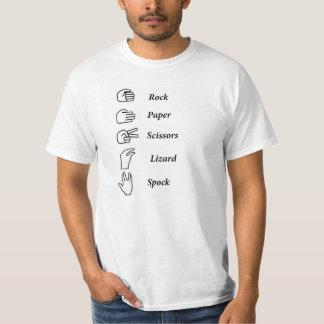 Rots, Document, Schaar, Hagedis, T-shirt Spock