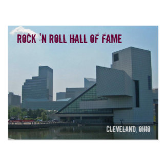 Rots - en - broodje Hall of Fame Cleveland Ohio Briefkaart