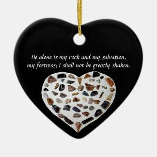 Rots van Mijn Zwart Ornament van het Vers van de