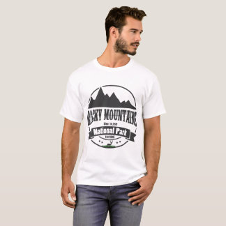 rotsachtig bergen nationaal park t shirt