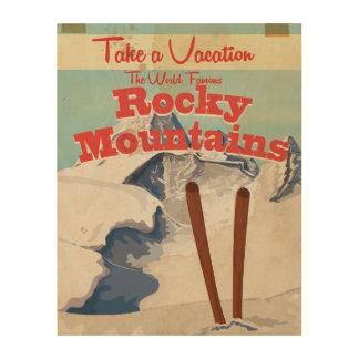 Rotsachtige Bergen, Poster van de Reis van de V.S.