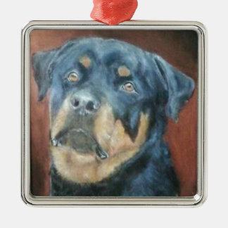 Rottweiler - het Ornament van Kerstmis van de