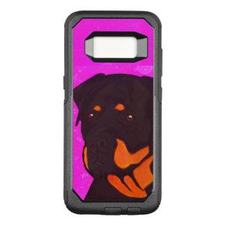 Rottweiler OtterBox Commuter Samsung Galaxy S8 Hoesje