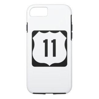 Route 11 van de V.S. Teken iPhone 8/7 Hoesje
