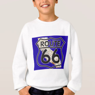 Route 66 Blauw Californië Trui